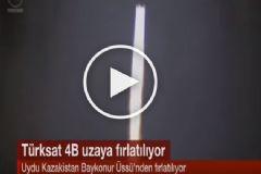 Türksat 4B Uzaya Böyle Fırlatıldı