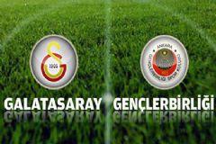 Galatasaray: 4 Gençlerbirliği: 1 Maç Sonucu