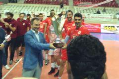 Ziraat Bankası: 3 Arkas Spor: 0 TSYD Dostluk Kupası Final Maçı