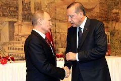 Erdoğan ve Putin Telefonla Görüştü