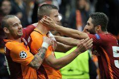 Galatasaray: 2 Benfica: 1 UEFA Şampiyonlar Ligi Maç Sonucu