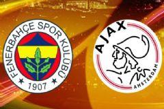 Fenerbahçe-Ajax Maçı İlk 11'leri