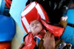 Aydın'da Muhammed Bebeğin Kurtarıldığı Anlar