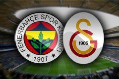 Fenerbahçe-Galatasaray Derbisinin İlk 11'leri Belli Oldu