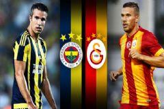 Fenerbahçe:1 Galatasaray:1 CANLI ANLATIM
