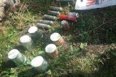 HDP'li Başkanın Evinin Bahçesinde 14 Adet Bomba Bulundu