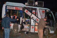 CHP Minibüsü Kaza Yaptı: 19 Yaralı