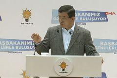 Davutoğlu Ankara'da Gençlere Seslendi