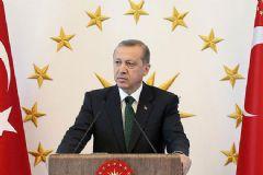 Erdoğan: Külliye'de Her Şey Altından