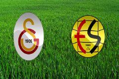 İşte Galatasaray - Eskişehirspor Maçının İlk 11'leri