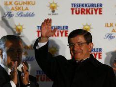 Başbakan Davutoğlu'nun Ak Parti Genel Merkezi Balkon Konuşması
