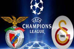 Benfica - Galatasaray Maçı İlk 11'leri Belli Oldu