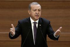 Erdoğan Muhtarlar İle Bir Araya Geldi
