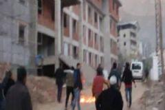 Şemdinli Halkı PKK'lıları Taş ve Sopalarla Kovaladı