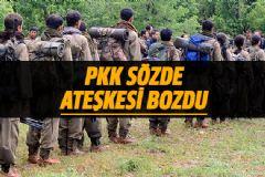 PKK Sözde Ateşkes Kararını Bozdu