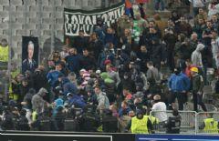 Beşiktaş Maçında Rus Taraftarlar Olay Çıkardı