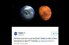 Mars'la İlgili Beklenen Açıklama Geldi