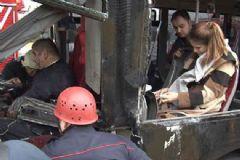 İstanbul'da Metrobüs Kazası: 5 Yaralı