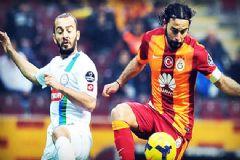 Çaykur Rizespor-Galatasaray Maçı İlk 11'leri