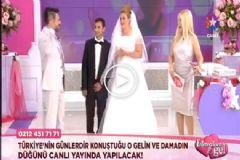 Şakacı Damat Seda Sayan'ın Programında Evlendi