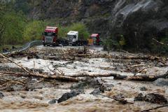 Artvin'de Sel Felaketi: 2 Ölü