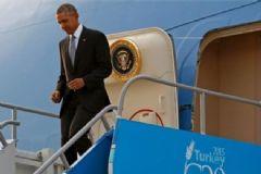 Barack Obama Antalya'ya Geldi