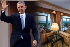 İşte Obama'nın Kalacağı Oda