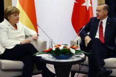 Erdoğan, Merkel İle Görüştü