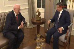 Başbakan Davutoğlu,TBMM Başkanı Adayı Karaman ile Görüştü