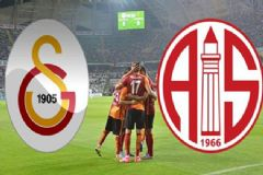 Galatasaray-Antalyaspor Maçı İlk 11'leri