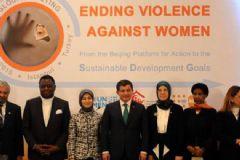 Davutoğlu Kadına Yönelik Şiddet Hakkında Konuştu