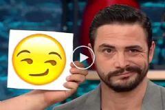 Ahmet Kural 'Emojileri' Taklit Etti