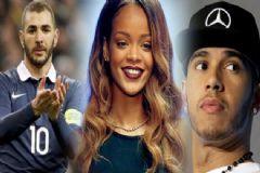 Rihanna: Benzema ve Hamilton'la Sadece Seviştik