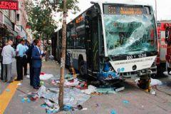 Ankara'daki Otobüs Kazasının Yeni Görüntüleri Ortaya Çıktı