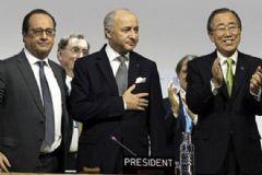 Paris Anlaşması Oy Birliğiyle Kabul Edildi