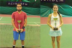 Türkiye Tenis Şampiyonası'nda Kazananlar Belli Oldu