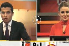 Galatasaray TV'de  Beşiktaş Golüne Sevindiler