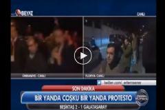 Beşiktaşlı Taraftardan Rasim Ozan'a Canlı Yayında Küfür