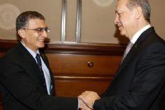 Aziz Sancar Erdoğan ile Görüştü