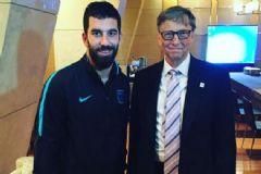 Arda Turan ve Bill Gates Aynı Karede