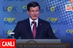 Başbakan Ahmet Davutoğlu MÜSİAD Kongresinde Konuştu