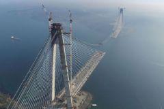 3. Boğaz Köprüsü'nün Tamamlanmasına 391 Metre Kaldı!