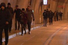 İstanbul'da Ulaşıma Kar Engeli