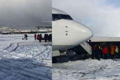 İstanbul'da Yolcu Uçağına Yıldırım İsabet Etti