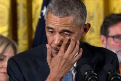 Obama O Kararı Gözyaşları İçinde Açıkladı