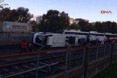 İzmir'de Metro Kazası