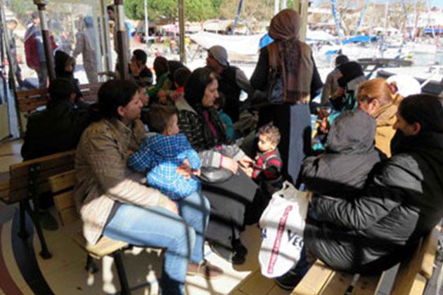Çanakkale'de 87 Suriye Mülteci Yakalandı