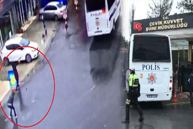 Bayrampaşa'da Çevik Kuvvet'e Silahlı Saldırı