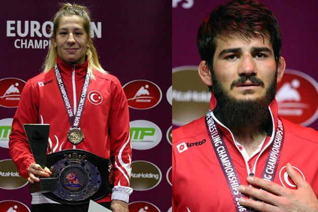 Türkiye'ye Avrupa Şampiyonası'nda 2 Altın Madalya!