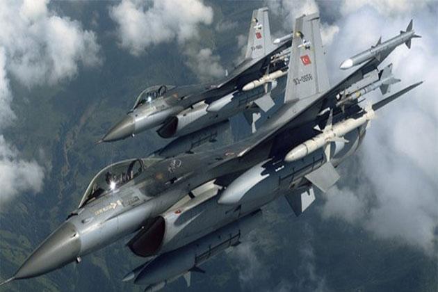 Kuzey Irak'taki PKK Kamplarına Hava Harekatı